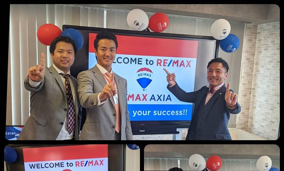NEW OFFICE 【RE/MAX AXIA】